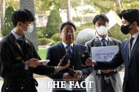 [TF포토] '김봉현 폭로' 검사와 변호사 고발하는 강기정 전 수석
