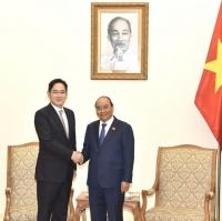 이재용 부회장, 베트남 총리와 면담