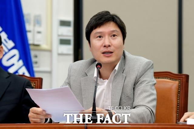 김해영 전 의원은 20대 국회 지역구 최연소 의원이다. 내년 4월 부산시장 후보 물망에 올라와 있다. /이선화 기자