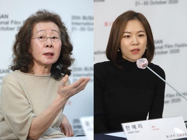 윤여정(왼쪽) 한예리는 작품을 통해 모녀로 호흡을 맞춘다. /부산국제영화제 제공