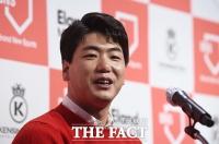 [TF포토] 소감 밝히는 김광현