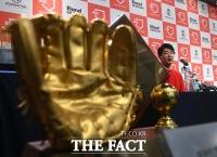 [TF포토] 김광현, '성공적인 금의환향'