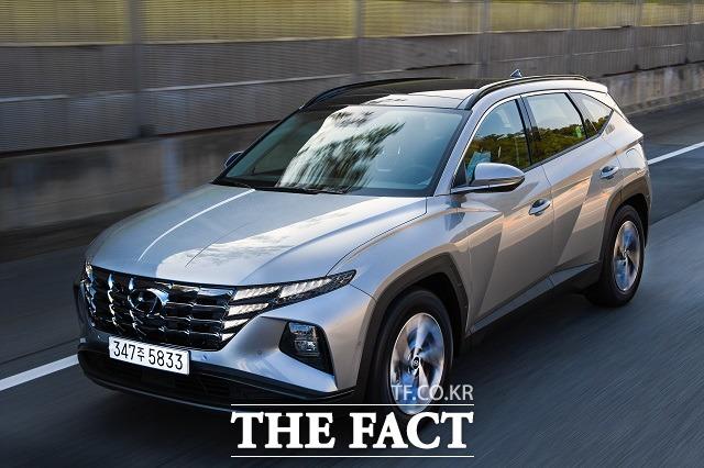 현대차의 준중형 SUV 투싼이 5년 만에 4세대 풀체인지 모델 올 뉴 투싼으로 새롭게 태어났다. /현대차 제공