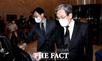 [TF사진관] 노영민 대통령 비서실장, '고 이건희 회장 빈소 찾아 조문'