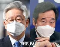 이재명 23% vs 이낙연 20%…'차기 대선주자' 오차범위 접전