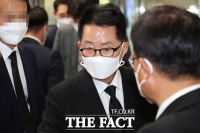 [TF사진관] 이건희 빈소 찾은 박지원 국정원장