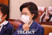 [TF사진관] 법사위 종합감사 출석한 추미애 법무부장관