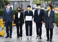 [TF포토] 주한일본대사관 방문한 류호정 의원