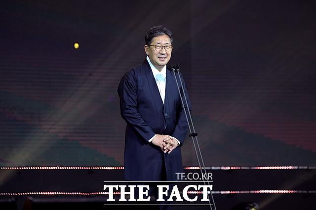 축사하는 박양우 문화체육관광부 장관