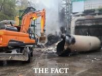 동두천 쓰레기 처리장서 불…소방관 3명 중경상