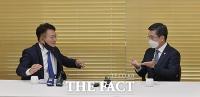 [TF사진관] 민주당 '한반도TF' 간담회 참석한 서욱 국방부 장관