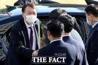 [TF사진관] 사퇴 압박속 측근 포진한 대전고검 찾은 윤석열 검찰총장