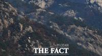 [TF포토] 북한산 족두리봉 화재 발생