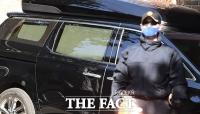 [TF포토] 커튼으로 막힌 MB차량