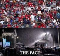 [TF사진관] 미 대선 초읽기… 트럼프-바이든, '대비되는 유세 스타일'