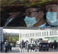 [TF사진관] 이명박, 입장 표명 없이 구치소로… '징역 17년형 집행'