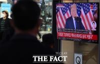 [TF포토] 트럼프, '경합주도 다 이겼다'