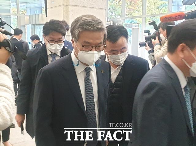 [TF현장] 2차 제재심 참석한 오익근·박정림 대표…징계수위 결정..