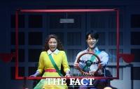 [TF포토] 제이민-박영수, '사랑스러운 커플 연기'