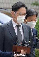 [TF사진관] 이재용, 10개월 만에 '국정농단' 파기환송심 재판 출석