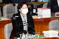 [TF포토] 인상 찡그린 김현미
