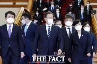 [TF사진관] 문 대통령, 조현옥·이원익·강석희 등 신임 대사 임명