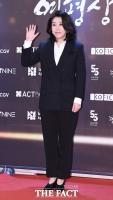 [TF포토] 김미경, '세련된 블랙 패션'