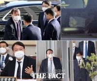 [TF사진관] '대선주자 1위' 윤석열, '국감 이후 더욱 바빠진 행보'