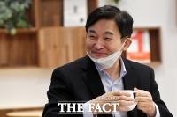 [TF포토] 미소짓는 원희룡 제주지사
