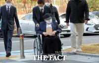 [TF포토] 공판 출석하는 이만희