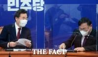 김태년 띄운 '이낙연 임기보장'…'당헌 개정'에 부담