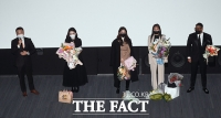 [TF포토] 소감 밝히는 '인플루언서' 주역들