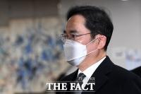 [TF사진관] 국정농단 파기환송심 출석하는 이재용 부회장