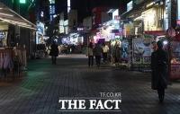 [TF사진관] 수도권 사회적 거리두기 2단계 임박...'발걸음 끊긴 번화가'
