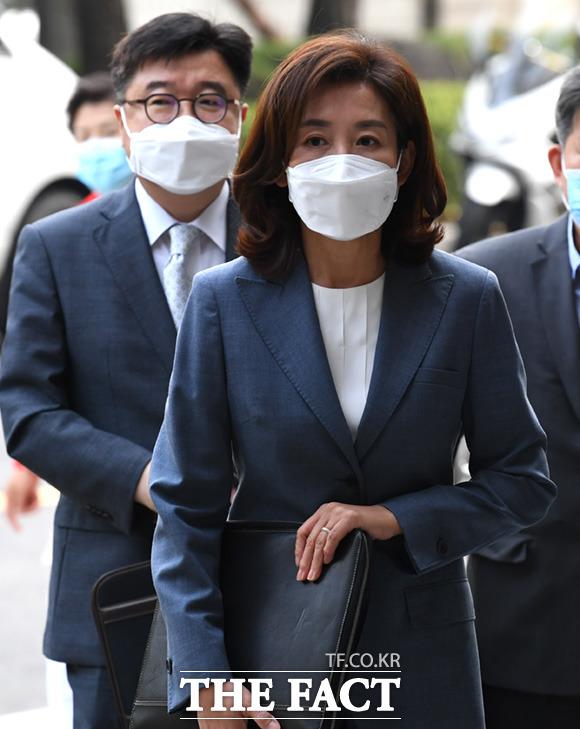 나경원 전 미래통합당(국민의힘) 의원이 21대 총선 낙선자 중 가장 많은 후원금을 모금 1위에 올랐다. /임세준 기자
