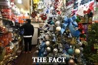 [TF포토] '크리스마스 특수 실종된 시장'