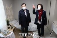[TF사진관] '청신호 프로젝트 2호' 오류동 '숲에리움' 방문한 진선미 단장