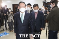 [TF사진관] 김도읍 법사위원장 항의 방문,