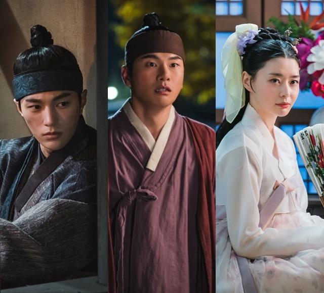 암행어사는 김명수 이이경 권나라(왼쪽부터)가 주연을 맡은 청춘 사극이다. /KBS 제공
