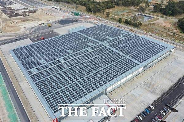 바이든 행정부의 친환경 정책이 본격화될 시 미국에서 태양광 사업을 진행 중인 한화솔루션과 LG전자 등이 수혜를 입을 것으로 전망된다. /LG전자 제공