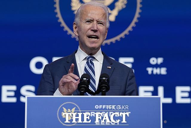 조 바이든 미국 대통령 당선인이 최근 차기 행정부 내각의 윤곽을 드러내자 인선 이후 국내 증시에 미칠 변화에 시선이 쏠리고 있다. /AP.뉴시스