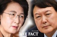 법무부-윤석열, 재판부 사찰 의혹 문건 갑론을박'