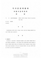 국가인권위, 전남대 홍콩민주화운동지지간담회 대관 취소는 '차별'