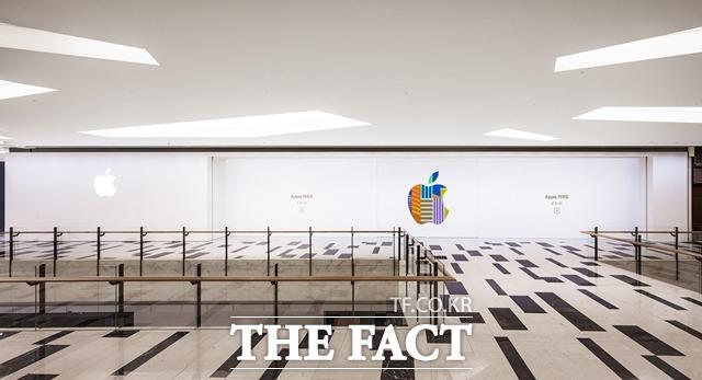 애플이 국내 마케팅을 강화하고 있다. 가로수길 매장 오픈 3년 만에 2호점을 개장한다. /애플 제공
