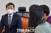 [TF사진관] 간담회 갖는 전해철 행안부 장관 내정자