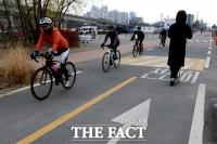 [TF포토] 개인형 이동장치, 자전거도로 이용가능