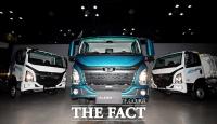 [TF포토] 타타대우상용차, 새 준중형 트럭 '더 쎈'