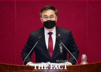[TF사진관] 필리버스터 나선 최형두 국민의힘 의원