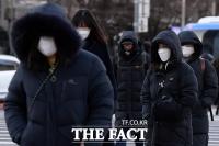 [TF사진관] '거리두기 2.5단계에 한파까지'…더 추워진 2020년 겨울