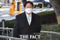 [TF포토] 변호인으로 법정 찾은 주광덕 전 의원